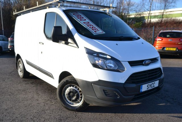 USED 2015 15 FORD TRANSIT CUSTOM 2.2 310 LR P/V 5d 99 BHP 1 COMPANY OWNER FROM NEW ~ 6 MONTHS WARRANTY ~ 6 MONTHS BREAKDOWN COVER