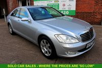 USED 2007 57 MERCEDES-BENZ S CLASS 3.0 S320 CDI 4d 231 BHP +12 Stamp FULL Service History