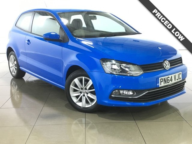 View our 2014 64 VOLKSWAGEN POLO 1.4 SE TDI BLUEMOTION 3d 74 BHP