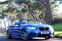 USED 2016 66 BMW 2 SERIES 3.0 M240i CONVERTIBLE AUTO 340 BHP
