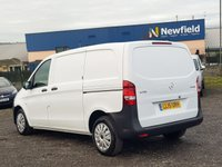 USED 2015 15 MERCEDES-BENZ VITO 2.1 114 BLUETEC 136 BHP AC EURO 6 COMPACT EURO 6 ADBLUE, MERCEDES OWNED, FDSH, SORTIMO RACKING