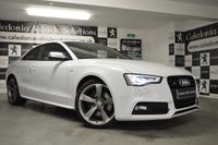 USED 2014 64 AUDI A5 3.0 S5 TFSI QUATTRO S LINE BLACK EDITION 2d AUTO 329 BHP ONE FORMER KEEPER with SERVICE HISTORY & AN OCTOBER 2019 MOT, LOW MILEAGE IMMACULATE EXAMPLE
