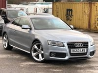 USED 2010 60 AUDI A5 2.0 TFSI S line Special Edition Multitronic 2dr Leather/B&O/Xenon/Sensors