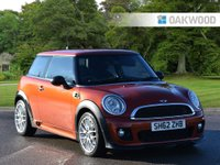 2012 MINI HATCH ONE 1.6 ONE D 3d 90 BHP JWC WORKS KIT £6495.00