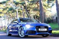 2015 AUDI A7 4.0 RS7 SPORTBACK TFSI V8 QUATTRO 5d AUTO 560 BHP £42950.00