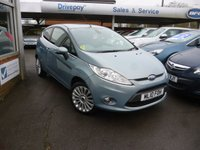 USED 2010 10 FORD FIESTA 1.4 TITANIUM 3d 96 BHP NEED FINANCE? WE CAN HELP