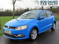 USED 2015 65 VOLKSWAGEN POLO 1.0 Bluemotion Tech SE 5d