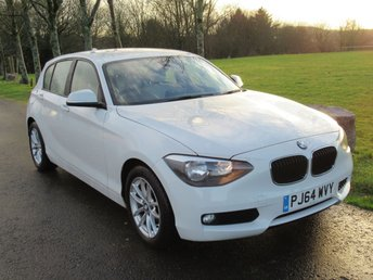 2014 BMW 1 SERIES 1.6 116D EFFICIENTDYNAMICS BUSINESS 5d 114 BHP £10000.00