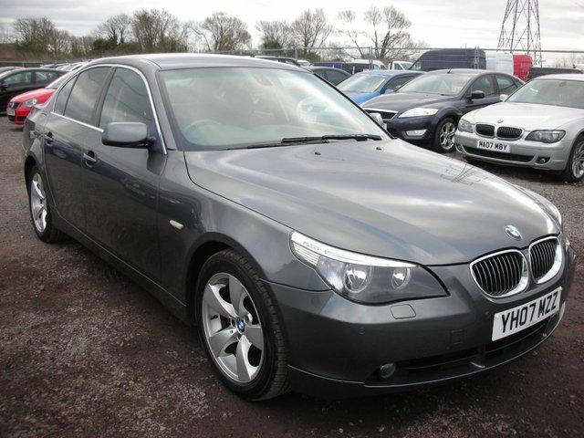 2007 07 BMW 5 SERIES 3.0 530D SE 4d AUTO 228 BHP
