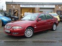 2004 ROVER 45 1.6 CLUB SE 4d 108 BHP £795.00