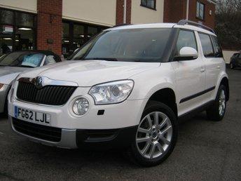 2012 SKODA YETI 2.0 ELEGANCE TDI CR DSG 5d AUTO 138 BHP £9995.00