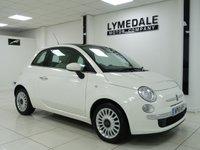 2012 FIAT 500 1.2 LOUNGE 3d 69 BHP £4590.00