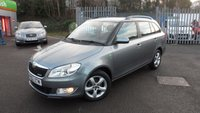 USED 2012 62 SKODA FABIA 1.2 GREENLINE TDI CR 5d 74 BHP £0.00 ROAD ANNUAL ROAD TAX!!