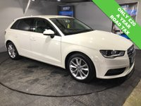 USED 2014 14 AUDI A3 2.0 TDI SE 5d 148 BHP Only £20 a year road tax   :   Bluetooth   :   DAB Radio   :   Cloth upholstery   :   Fully documented Audi service history