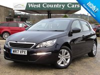 USED 2017 PEUGEOT 308 1.2 PURETECH S/S ACTIVE 5d 110 BHP Very Low Running Costs