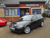 USED 2008 08 AUDI A3 2.0 TDI SE 5d AUTO 138 BHP 2 owners Full Audi Service History & Leather!