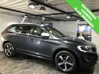 USED 2016 66 VOLVO XC60 2.4 D5 R-DESIGN LUX NAV AWD 5d AUTO 217 BHP Bluetooth  : Full leather upholstery    :    Heated front seats    :    Power tailgate    :    Full service history   :  Rear parking sensors and camera