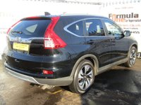 USED 2015 65 HONDA CR-V 1.6 i-DTEC SR 2WD 5dr (Honda Connect with Navi) 1 OWNER+FULL MOT+SAT NAV