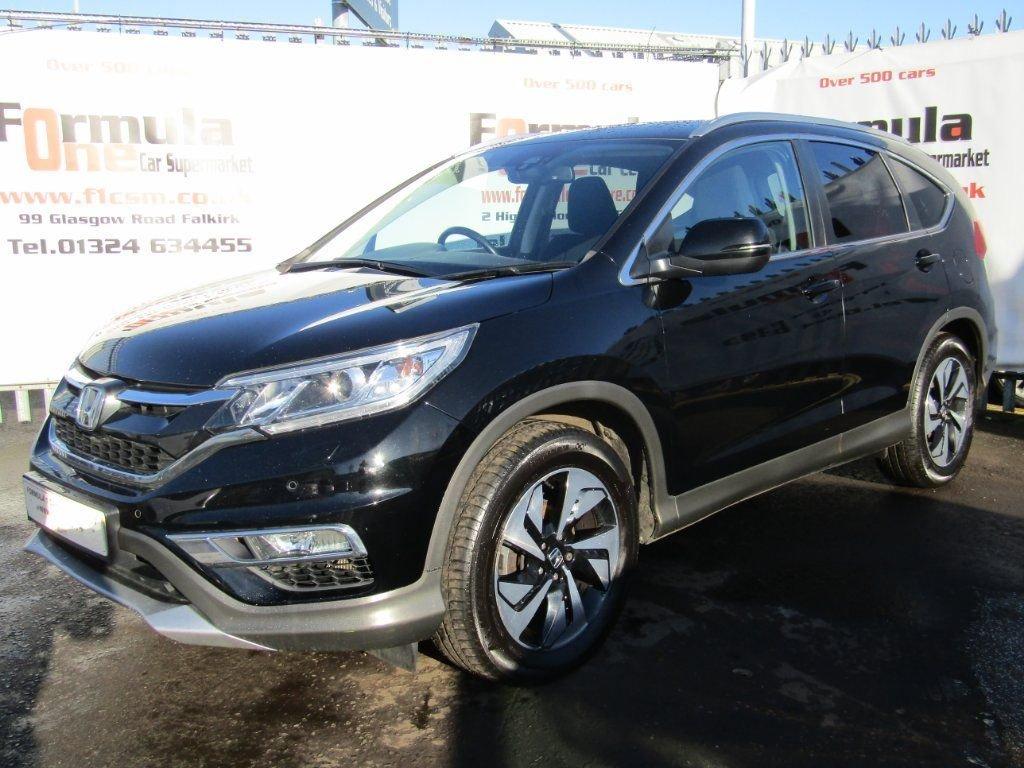 USED 2015 65 HONDA CR-V 1.6 i-DTEC SR 2WD 5dr (Honda Connect with Navi) 1 OWNER+FULL MOT+SAT NAV