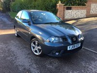 2008 SEAT IBIZA 1.4 SPORTRIDER 3d 99 BHP PLEASE CALL TO VIEW £1450.00