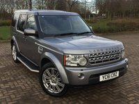 2011 LAND ROVER DISCOVERY 4 3.0 4 SDV6 HSE 5d AUTO 255 BHP £16995.00