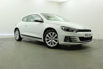 2017 VOLKSWAGEN SCIROCCO 1.4 TSI BLUEMOTION TECHNOLOGY 2d 123 BHP £13395.00