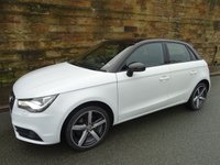 2013 AUDI A1 1.4 SPORTBACK TFSI AMPLIFIED EDITION 5d 121 BHP £9370.00
