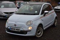 2008 FIAT 500 1.4 LOUNGE 3d 99 BHP £3490.00