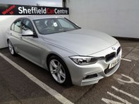 USED 2015 15 BMW 3 SERIES 2.0 320D M SPORT 4d 181 BHP £337 A MONTH BLUETOOTH SATELLITE NAVIGATION DAB RADIO LEATHER SEATS CLIMATE AND CRUISE CONTROL