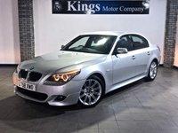 2008 BMW 5 SERIES 2.0 520D M SPORT 4d AUTO £7990.00