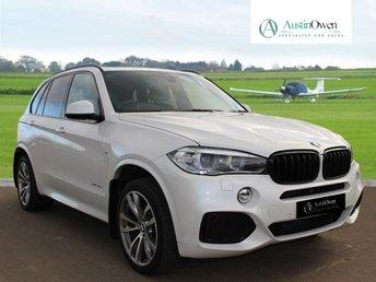 2015 BMW X5 3.0 XDRIVE30D M SPORT 5d AUTO 255 BHP £30990.00
