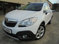 USED 2013 VAUXHALL MOKKA 1.6 EXCLUSIV S/S 5d 113 BHP Excellent Condition, Small SUV, No Deposit Finance Available