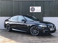 USED 2016 66 BMW 5 SERIES 3.0 535D M SPORT 4d AUTO 309 BHP