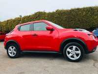 USED 2016 66 NISSAN JUKE 1.6 VISIA 5d  STILL WITH REMAINING NISSAN WARRANTY  NO DEPOSIT  PCP/HP FINANCE ARRANGED, APPLY HERE NOW