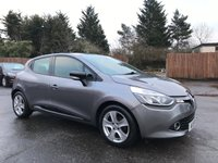 USED 2015 15 RENAULT CLIO 1.5 DYNAMIQUE MEDIANAV ENERGY DCI S/S 5d  WITH SAT NAV AND SERVICE HISTORY NO DEPOSIT ECP/HP FINANCE ARRANGED, APPLY HERE NOW