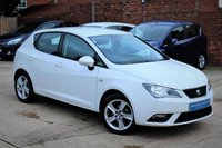 USED 2015 65 SEAT IBIZA 1.4 TOCA 5d 85 BHP **** 10,000 MILES ONLY * SAT NAV * BLUETOOTH * AIR CON ****