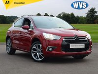 USED 2013 07 CITROEN DS4 1.6 HDI DSTYLE 5d 115 BHP A very economical and cheap to tax 2013 Citroen DS4 1.6hdi DStyle 5dr in red metallic with just 56000 miles.