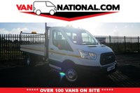 USED 2016 16 FORD TRANSIT 2.2 350 C/C DROPSIDE 125 BHP (TWIN REAR WHEELER) * READY TO DRIVE AWAY TODAY *