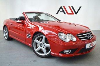 2007 MERCEDES-BENZ SL 55 AMG SL55 AMG 517BHP £39950.00