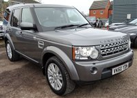 2010 LAND ROVER DISCOVERY 3.0 4 TDV6 HSE 5d AUTO 245 BHP £13490.00