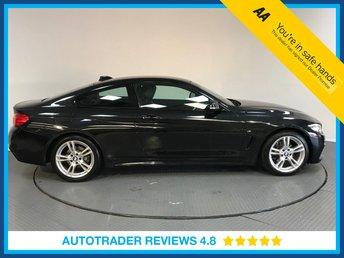2015 BMW 4 SERIES 2.0 420D M SPORT 2d AUTO 188 BHP £18700.00