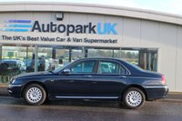 USED 2001 51 ROVER 75 2.0 CONNOISSEUR SE CDT 4d 114 BHP 25% DEPOSIT SHORTFALL SHORT TERM FINANCE AVAILABLE TO ALL (NO CREDIT CHECKS)  *