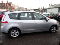 USED 2012 62 RENAULT GRAND SCENIC 1.6 DYNAMIQUE TOMTOM VVT 5d 110 BHP