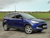 USED 2015 64 FORD KUGA 1.5 TITANIUM 5d 148 BHP LOW MILEAGE, LOVELY EXAMPLE, ONE OWNER