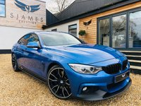 USED 2015 15 BMW 4 SERIES 2.0 428I M SPORT GRAN COUPE 4d AUTO 242 BHP