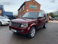USED 2015 65 LAND ROVER DISCOVERY 3.0 SDV6 SE TECH 5d AUTO 255 BHP Low Mileage Discovery 4 SE-TECH, Full Land Rover Service History