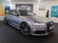 USED 2015 15 AUDI A6 2.0 AVANT TDI ULTRA S LINE BLACK EDITION 5d AUTO 188 BHP HUGE SPECIFICATION!!