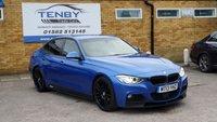 2013 BMW 3 SERIES 3.0 330D M SPORT 4d AUTO 255 BHP £15484.00