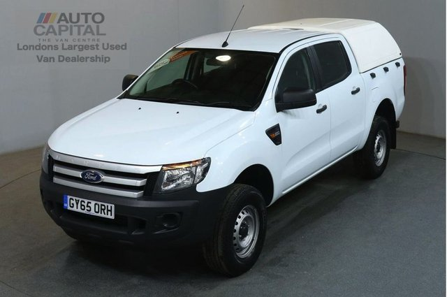 2015 65 FORD RANGER 2.2 XL 4X4 DCB TDCI 148 BHP AIR CON PICK UP