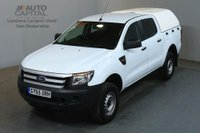 USED 2015 65 FORD RANGER 2.2 XL 4X4 DCB TDCI 148 BHP AIR CON PICK UP AIR CONDITIONING